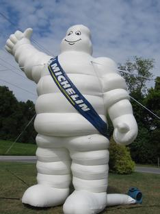 Michelin Man inflatable